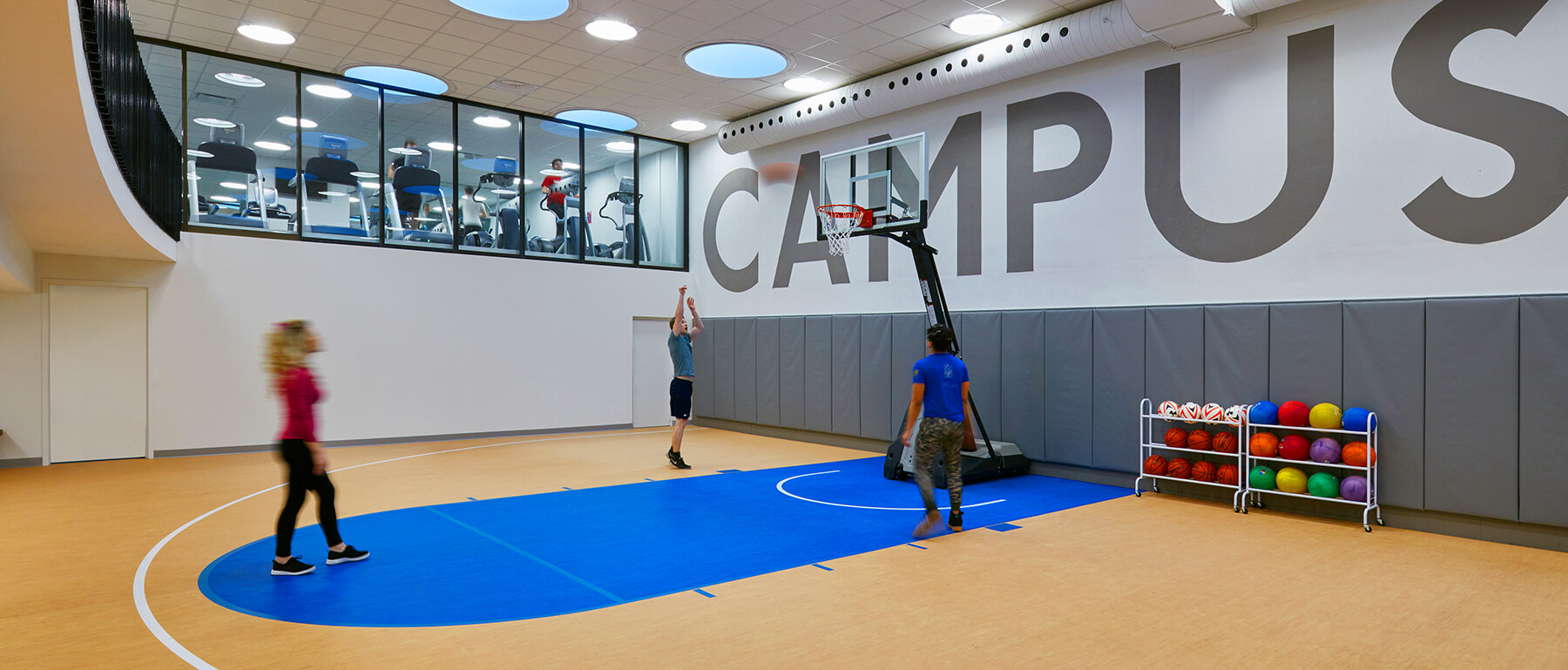 Fitness Centre & Indoor Basketball Court​
